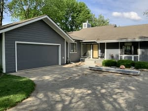 Lake Panorama Iowa home with James Hardie and much more