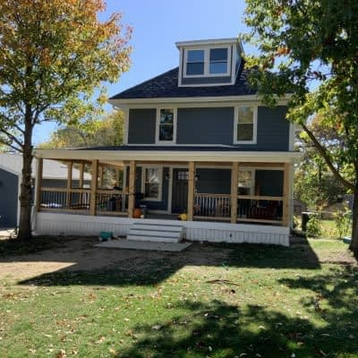Total makeover on Southside Des Moines Iowa home